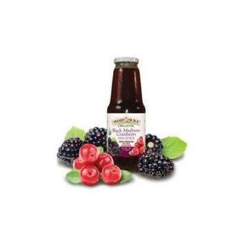 Smart Juice Organic Black Mulberry Cranberry Juice, 33.8 Fluid Ounce -- 6 per case.