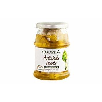 Artichoke Hearts in Extra Virgin Olive Oil - 9.87 oz.