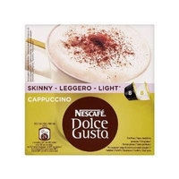 NESCAFÉ Dolce Gusto Skinny Cappuccino 16 Capsules (Pack of 3, Total 48 Capsules)