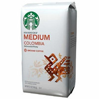 Starbucks Coffee Medium Roast, Columbia, Ground 12 oz