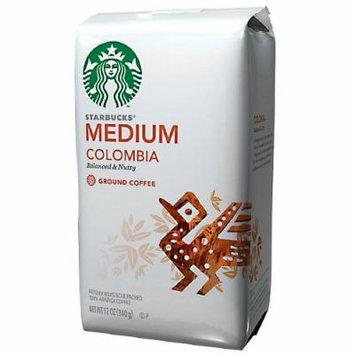 Starbucks Coffee Medium Roast, Columbia, Ground 12 oz