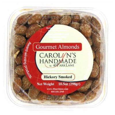 Carolyn's Handmade Gourmet Deli Tub, Hickory Smoked Almonds, 10.5 Ounce