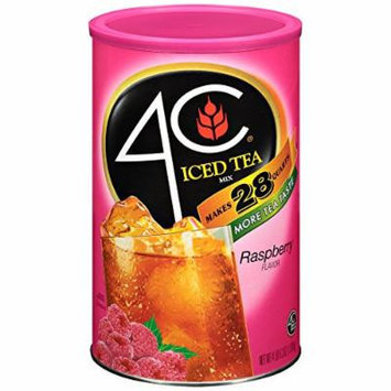 4C Instant Iced Tea Mix, Raspberry 74.2oz