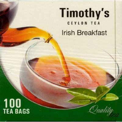 Timothy's Irish Breakfast Pure Ceylon Tea - 100bags