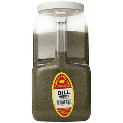 Marshalls Creek Spices XXL Restaurant Size Spice Jug, Dill Weed, 2 Pound