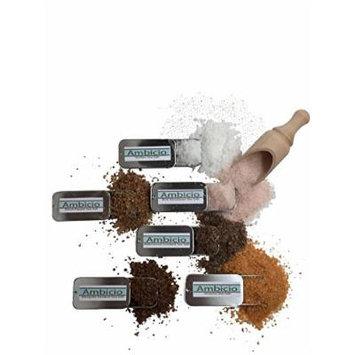 Ambicio Salt Samplers (Gourmet Salt Sampler (Set of 6))
