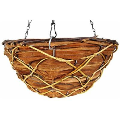 SuperMoss (29703) Wood Woven Baskets - Round Style, Timberline 14