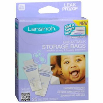 Lansinoh Breastmilk Storage Bags 25 Ea