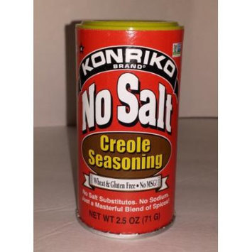 Konriko No Salt No MSG Creole Seasoning 2.5oz (Single)