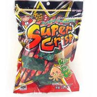 Super Crisp Grilled Seaweed (Hot Chili Squid Flavor) .84oz (Pack of 6)