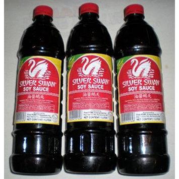 Silver Swan Soy Sauce Pack of 3 1000 Ml Each Bottle