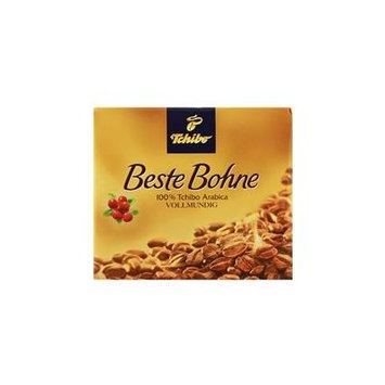 2 Packs of Tchibo Beste Bohne Ground coffee 17.6oz/500gx2