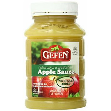 Gefen Apple Sauce, Natural, 23 Ounce (Pack of 12)