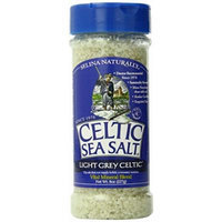 CELTIC Sea Salt Shaker, Light Grey, 8 Ounce
