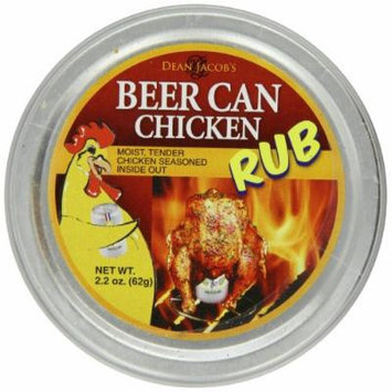 Dean Jacobs Beer Can Chicken Rub, 2.8-Ounce (Pack of 6)