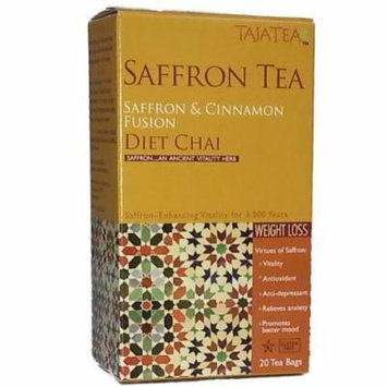 Saffron Cinnamon Diet Chai Tea (5 pack)