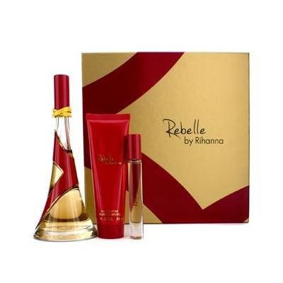 Rebelle Coffret: Eau De Parfum Spray 100ml/3.4oz + Body Butter 85g/3oz + Rollerball 6ml/0.2oz
