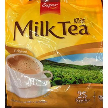 500g Super Milk Tea 3 in 1, Original, 25 Sachets (One Bag Per Order)