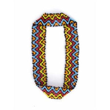 Sizzle City Custom Bling Rhinestone Bohemian Pattern Seed Bead Elastic Stretch Headbands (Native American Seed Bead Headband Style S)