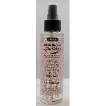 C. Booth Skin Below The Chin Dry Oil Body Mist - Spun Sugar