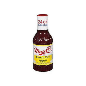 Maull's Sauce Barbecue Kansas City Style, 24 fz (Pack of 12)