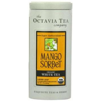 Octavia Tea Mango Sorbet (Organic White Tea), 1.06-Ounce Tin