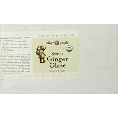 the Ginger People Organic Sweet Ginger Glaze, 11 Pound