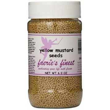 Faeries Finest Mustard Seeds, 6.0 Ounce