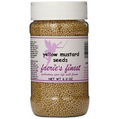 Faeries Finest Mustard Seeds, 6.0 Ounce