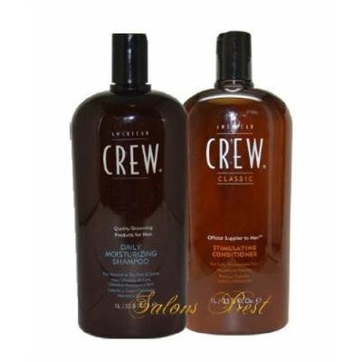 Daily Moisture Shampoo and Stimulating Conditioner Duo 33.8oz