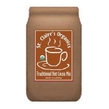 St. Claire's Organics® Traditional Hot Cocoa Mix, 12 oz Bag