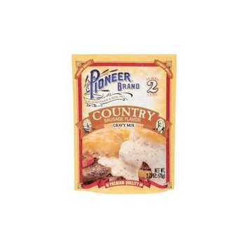 Pioneer Brand Gravy Mix, Country Sausage, 2.75-ounce Packets (3 Packs)