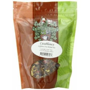 English Tea Store Loose Leaf, Casablanca Caffeine Free Herbal Tea Pouches, 4 Ounce