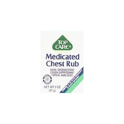 Top Care Medicated Chest Rub - 3.53g