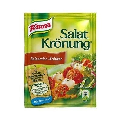 Knorr Salatkrönung Balsamico-Kräuter (Balsamic Herbs) (5 Pc.) 3 Packs