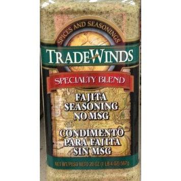 20oz Trade Winds Fajita Seasoning, No MSG (One Bottle Per Order)