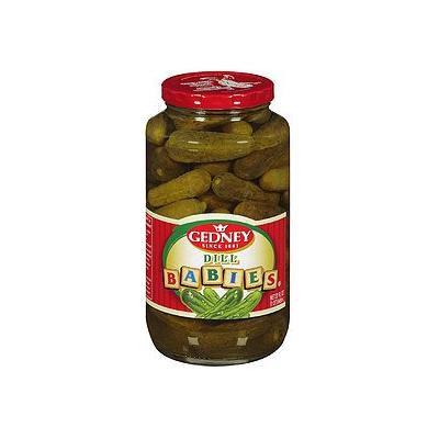 Gedney Dill Babies Pickles, 24 fl oz