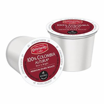 Community Coffee K-Cup Pods, 100% Colombia Altura 12 Count (Pack of 3)