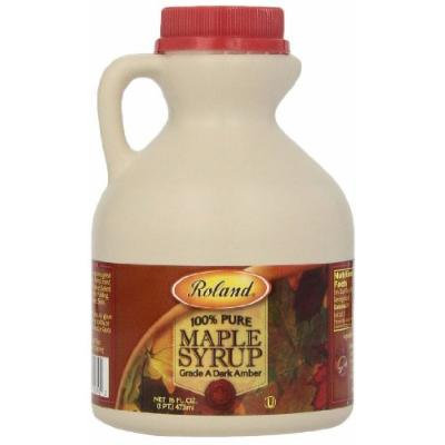 Roland Maple Syrup, 100% Pure, 16 Ounce