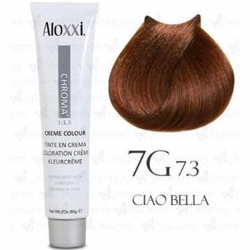 Aloxxi Chroma Permanent Creme Colour 2 oz (7G: Med. Golden Blonde)