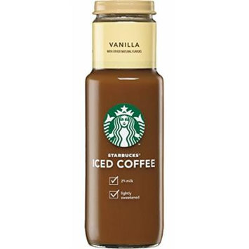 Starbucks Iced Vanilla Coffee