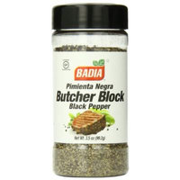 Badia Black Pepper Butcher Block, 3.5 Ounce (Pack of 12)