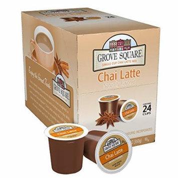 Grove Square Tea, Chai Latte, 24 Single Serve Cups