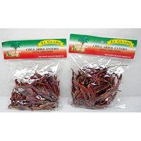 El Guapo Dried Chile de Arbol Pepper - 2.25 Ounce (2 Pack)