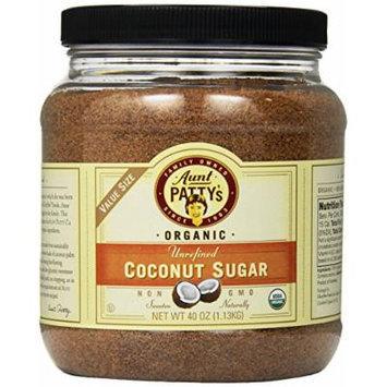 Aunt Patty's Organic Coconut Sugar, 40 Ounce
