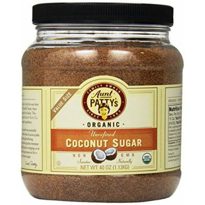 Aunt Patty's Organic Coconut Sugar, 40 Ounce