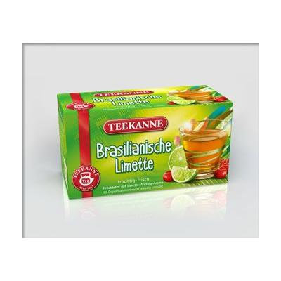 3x Teekanne (Brasilianische Limette) brasilian lime (each box 20 tea bags)