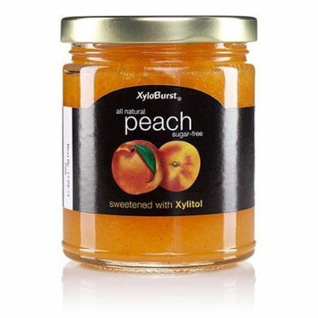 Peach Fruit Jam XyloBurst 10 oz Glass Jar