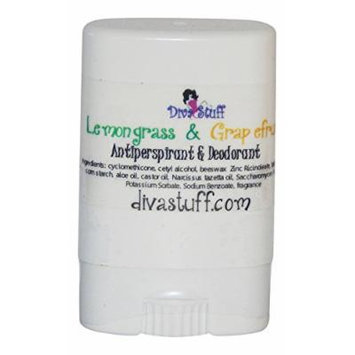 Trial Size! Lemongrass and Grapefruit Scented Aluminum Free Antiperspirant & Deodorant By Kym's Diva Stuff