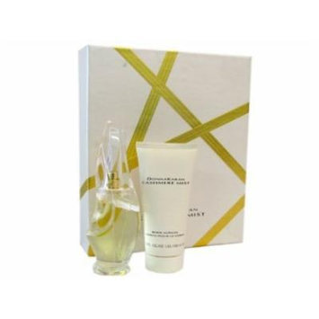 Cashmere Mist for Women 2 Piece Set: 1.7 Oz Eau De Parfum Spray + 3.4 Oz Body Lotion By Donna Karan